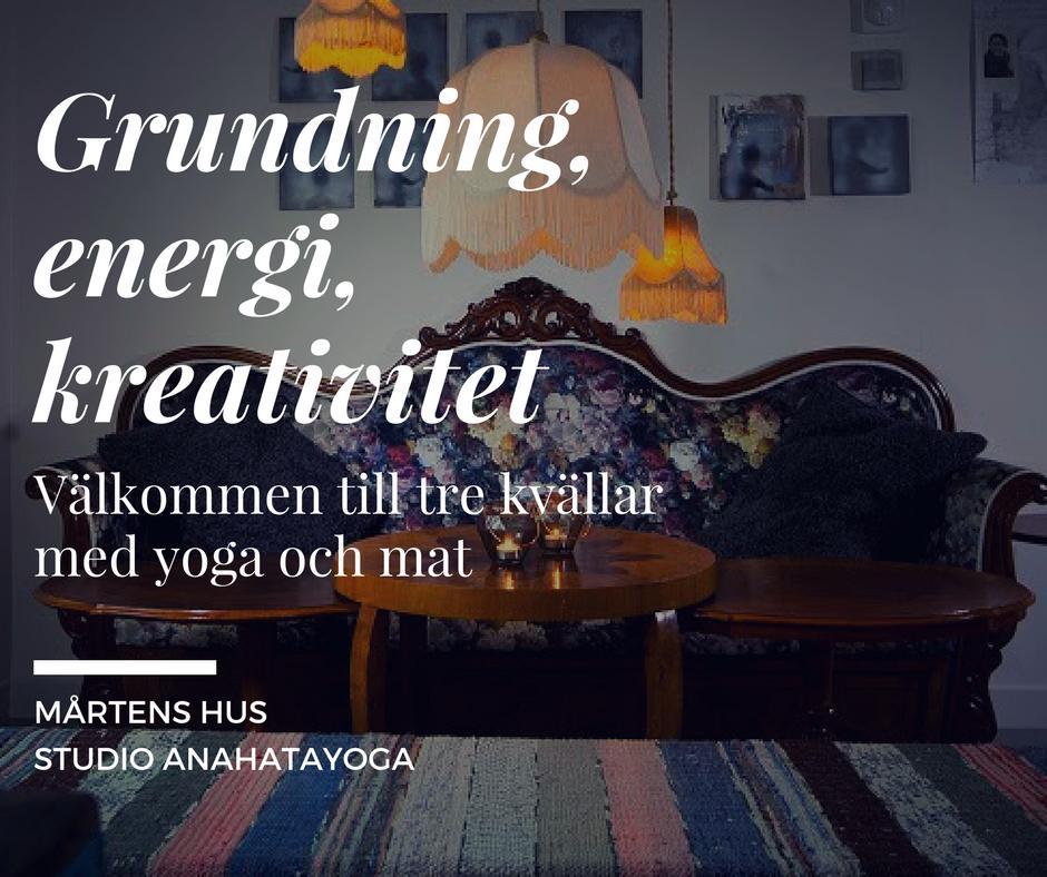 Yoga och Mat Mårtens Hus